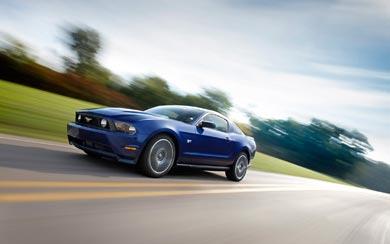 2010 Ford Mustang wallpaper thumbnail.