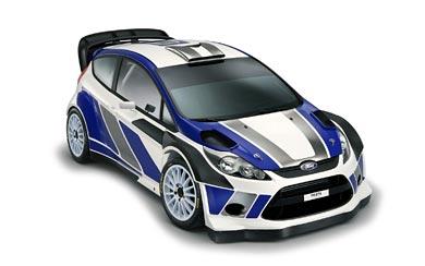 2011 Ford Fiesta RS World Rally Car wallpaper thumbnail.