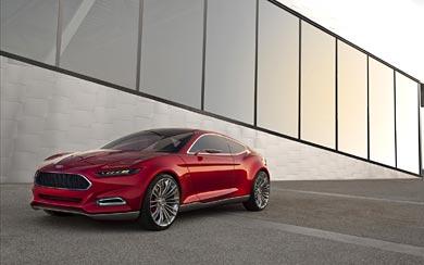 2012 Ford Evos Concept wallpaper thumbnail.