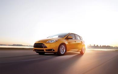 2012 Ford Focus ST wallpaper thumbnail.