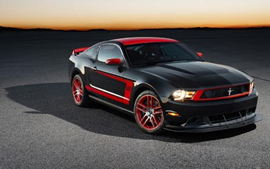 2012 Ford  Mustang Boss 302 Laguna Seca wallpaper thumbnail.
