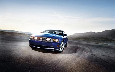 2012 Ford Mustang GT wallpaper thumbnail.