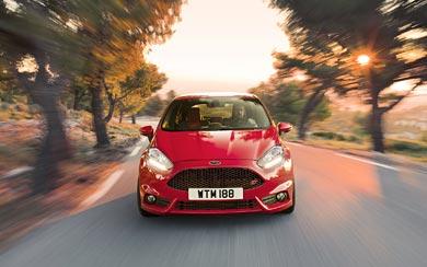 2013 Ford Fiesta ST wallpaper thumbnail.