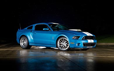 2013 Ford Shelby Mustang GT500 Cobra wallpaper thumbnail.