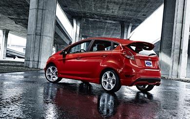 2014 Ford Fiesta ST wallpaper thumbnail.