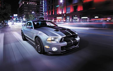 2014 Ford Shelby Mustang GT500 wallpaper thumbnail.