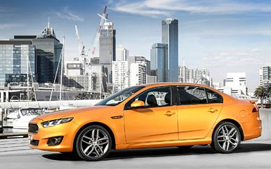 2015 Ford Falcon XR6 wallpaper thumbnail.