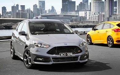 2015 Ford Focus ST wallpaper thumbnail.