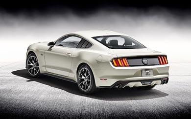 2015 Ford Mustang 50 Year Limited Edition wallpaper thumbnail.