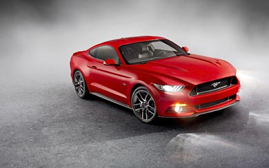 2015 Ford Mustang GT wallpaper thumbnail.