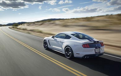 2016 Ford Shelby Mustang GT350 wallpaper thumbnail.