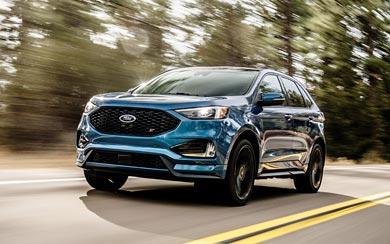 2019 Ford Edge ST wallpaper thumbnail.