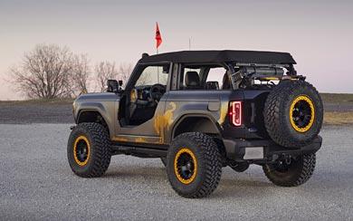 2020 Ford Bronco Badlands Sasquatch 2-Door Concept wallpaper thumbnail.