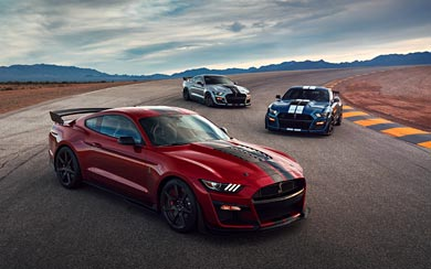 2020 Ford Mustang Shelby GT500 wallpaper thumbnail.