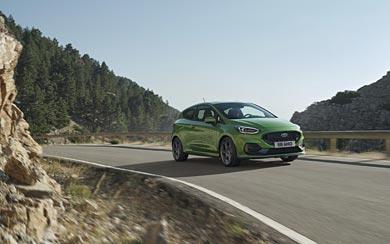 2022 Ford Fiesta ST wallpaper thumbnail.