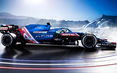 2021 Alpine A521 wallpaper thumbnail.