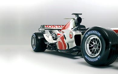 2006 Honda RA106 wallpaper thumbnail.