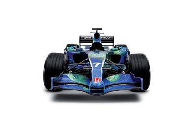 2007 Honda RA107 wallpaper thumbnail.