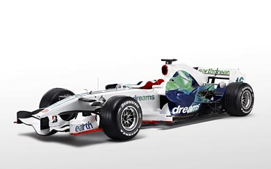 2008 Honda RA108 wallpaper thumbnail.