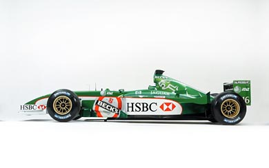 2002 Jaguar R3 wallpaper thumbnail.