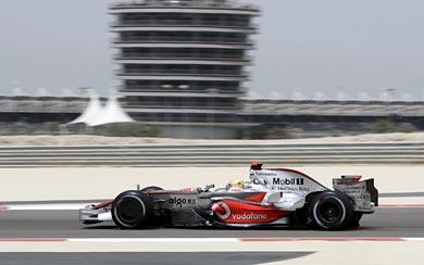 2008 McLaren MP4-23 wallpaper thumbnail.