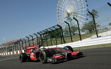 2009 McLaren MP4-24 wallpaper thumbnail.