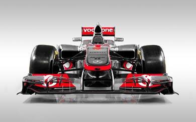 2012 McLaren MP4-27 wallpaper thumbnail.