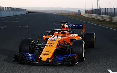 2018 McLaren MCL33 wallpaper thumbnail.