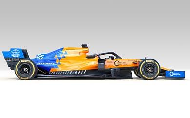 2019 McLaren MCL34 wallpaper thumbnail.