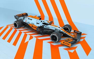 2021 McLaren MCL35M wallpaper thumbnail.