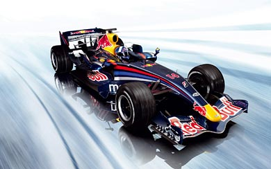 2007 Red Bull Racing RB3 wallpaper thumbnail.
