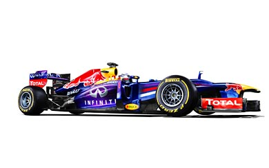 2013 Red Bull Racing RB9 wallpaper thumbnail.