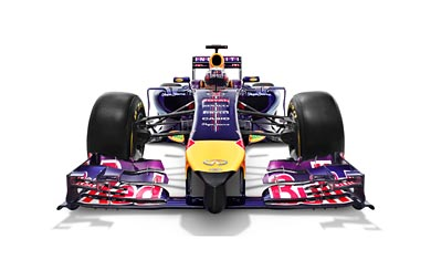 2014 Red Bull Racing RB10 wallpaper thumbnail.