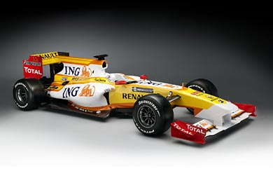 2009 Renault F1 R29 wallpaper thumbnail.