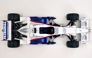 2008 BMW Sauber F1.08 wallpaper thumbnail.