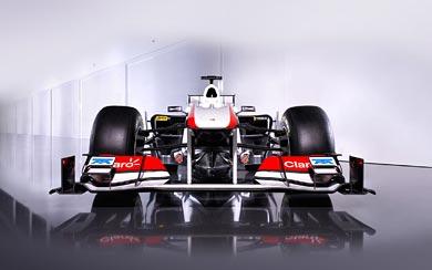 2011 Sauber F1 C30 wallpaper thumbnail.