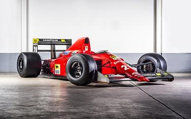 1989 Ferrari F1-89 wallpaper thumbnail.