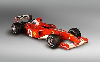 2002 Ferrari F2002 wallpaper thumbnail.