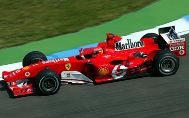 2004 Ferrari F2004 wallpaper thumbnail.