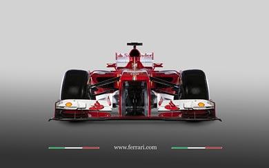 2013 Ferrari F138 wallpaper thumbnail.