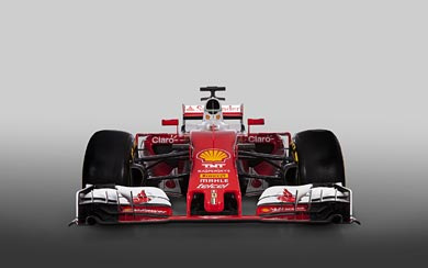 2016 Ferrari SF16-H wallpaper thumbnail.