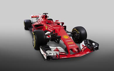 2017 Ferrari SF-70H wallpaper thumbnail.