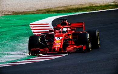 2018 Ferrari SF71H thumbnail.