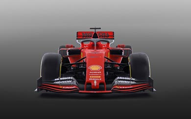 2019 Ferrari SF90 wallpaper thumbnail.