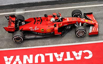 2019 Ferrari SF90 wallpaper thumbnail.