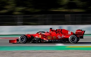 2020 Ferrari SF1000 wallpaper thumbnail.