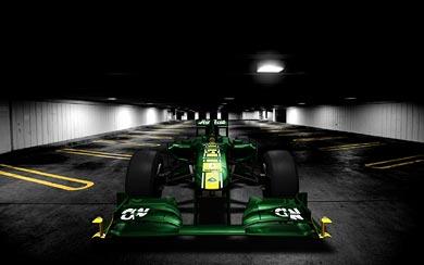 2011 Team Lotus T128 wallpaper thumbnail.