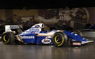 1994 Williams FW16B wallpaper thumbnail.