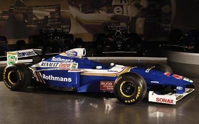 1997 Williams FW19 wallpaper thumbnail.