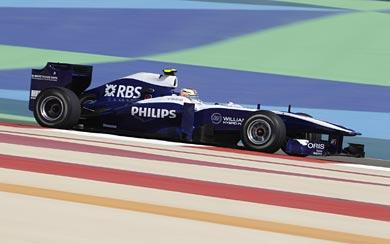 2010 Williams FW32 wallpaper thumbnail.